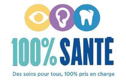 CGCA - Logo 100 pour cent sante